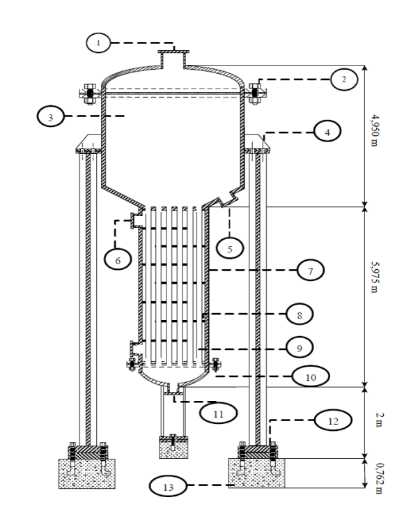 radiks's design of evaporator detail